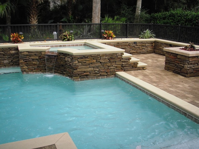 3d pool design raszl inc palm coast pool and spa builders for Pool design inc