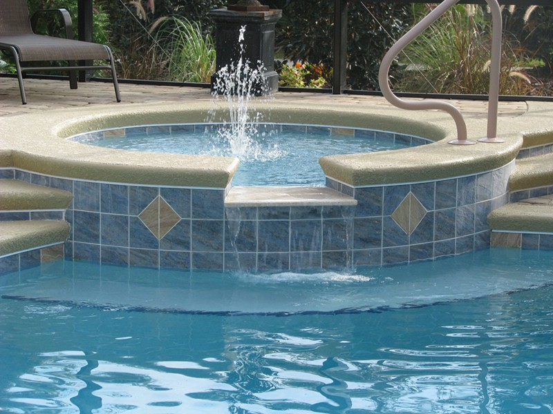 Pool and spa gallery raszl inc palm coast pool and for Spa builders