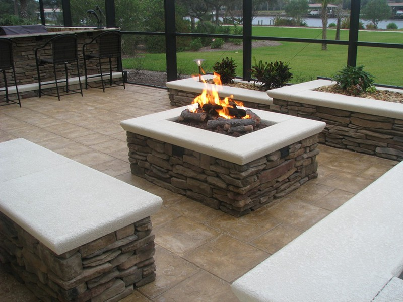 Fire Bowls And Fire Pits Raszl Inc Palm Coast Pool