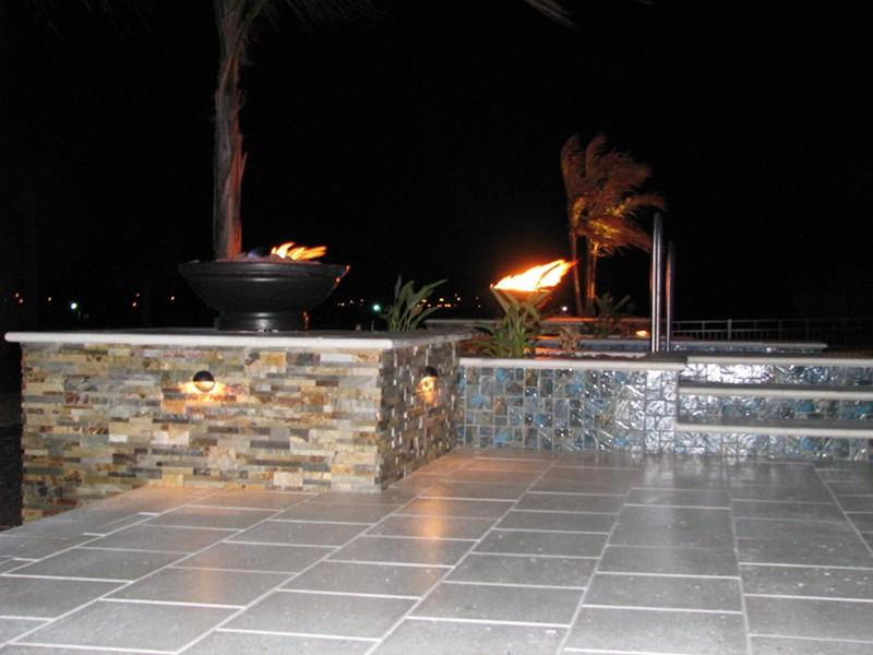 Fire Bowls And Fire Pits Raszl Inc Palm Coast Pool
