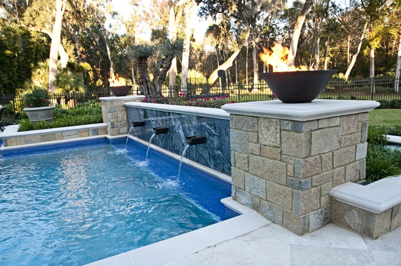 Pool and spa gallery raszl inc palm coast pool and for Pool and spa contractors