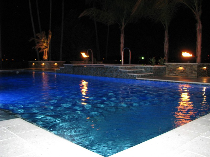 Lighting Effects Raszl Inc Palm Coast Pool And Spa