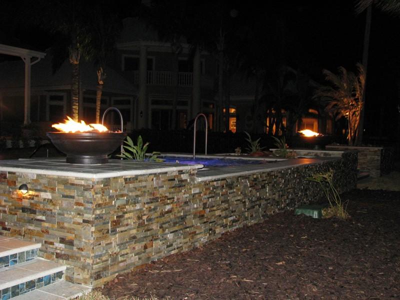 Lighting Effects Raszl Inc Palm Coast Pool And Spa