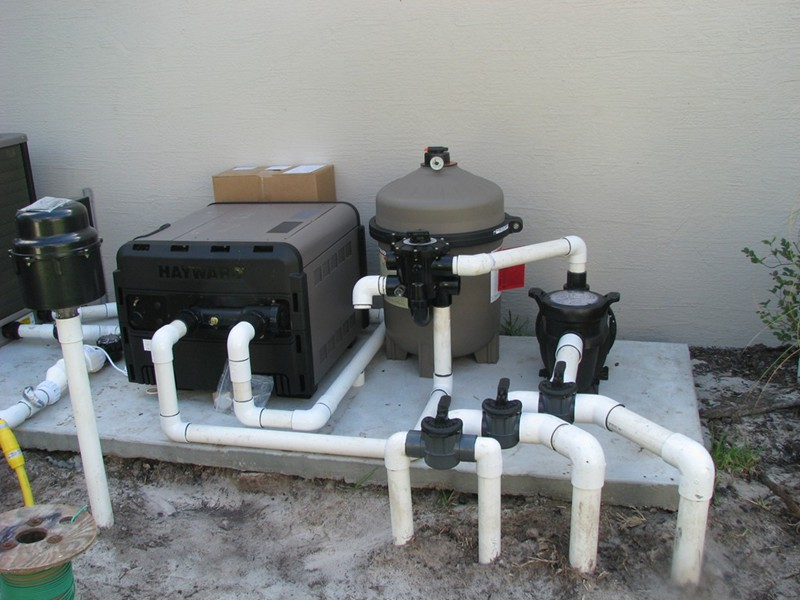 Pool Equipment Gallery Raszl Inc Palm Coast Pool And