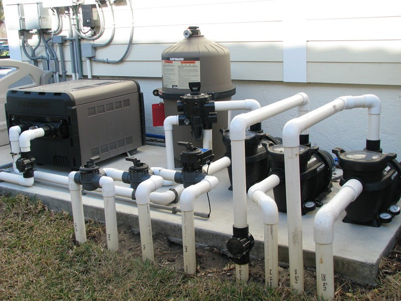 Pool Equipment Plumbing : Pool equipment gallery raszl inc palm coast and