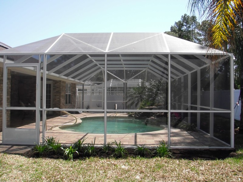 Screen Enclosures Raszl Inc Palm Coast Pool And Spa