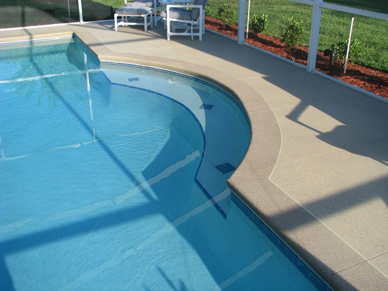 Swim out benches raszl inc palm coast pool and spa - Swimming pool swimming pool swimming pool ...