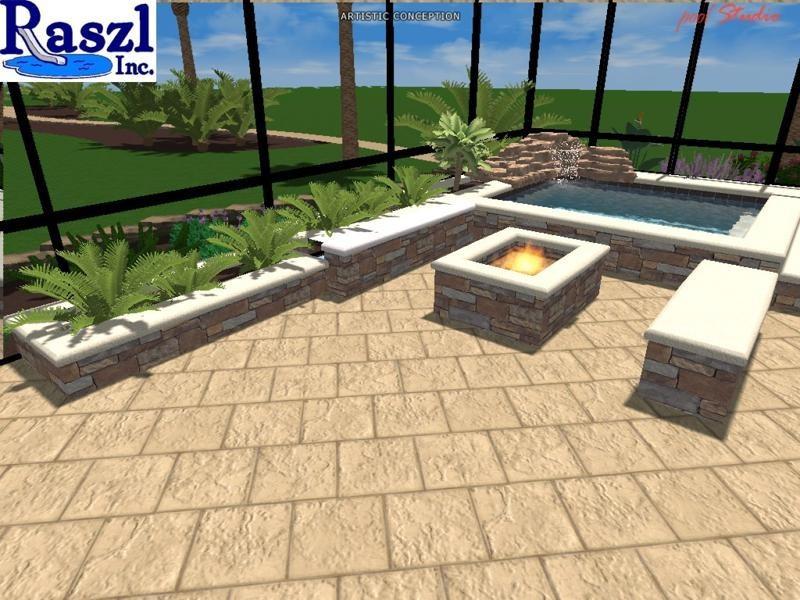 3d Pool Design Raszl Inc Palm Coast Pool And Spa Builders
