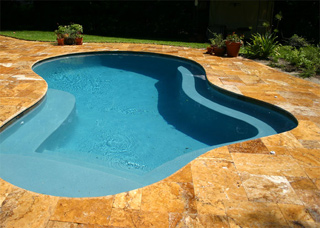 Travertine Raszl Inc Palm Coast Pool And Spa Builders