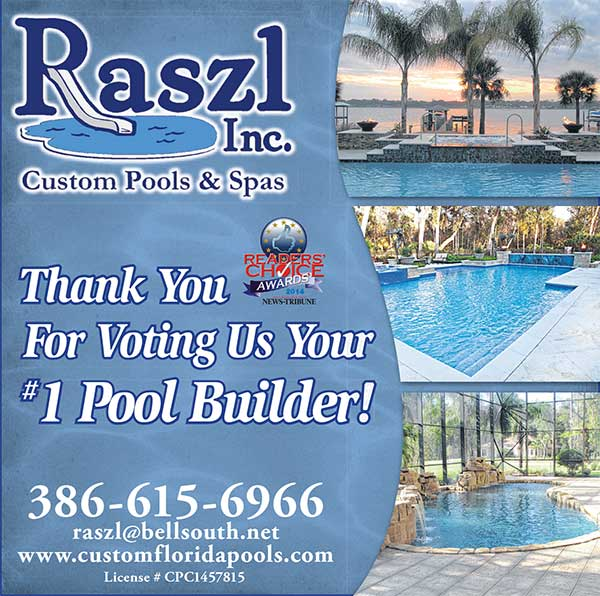 Welcome To Raszl Inc Palm Coast Pool And Spa Builders
